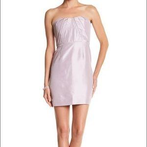 J. Crew Alexia Hushed Violet Strapless Dress, 12